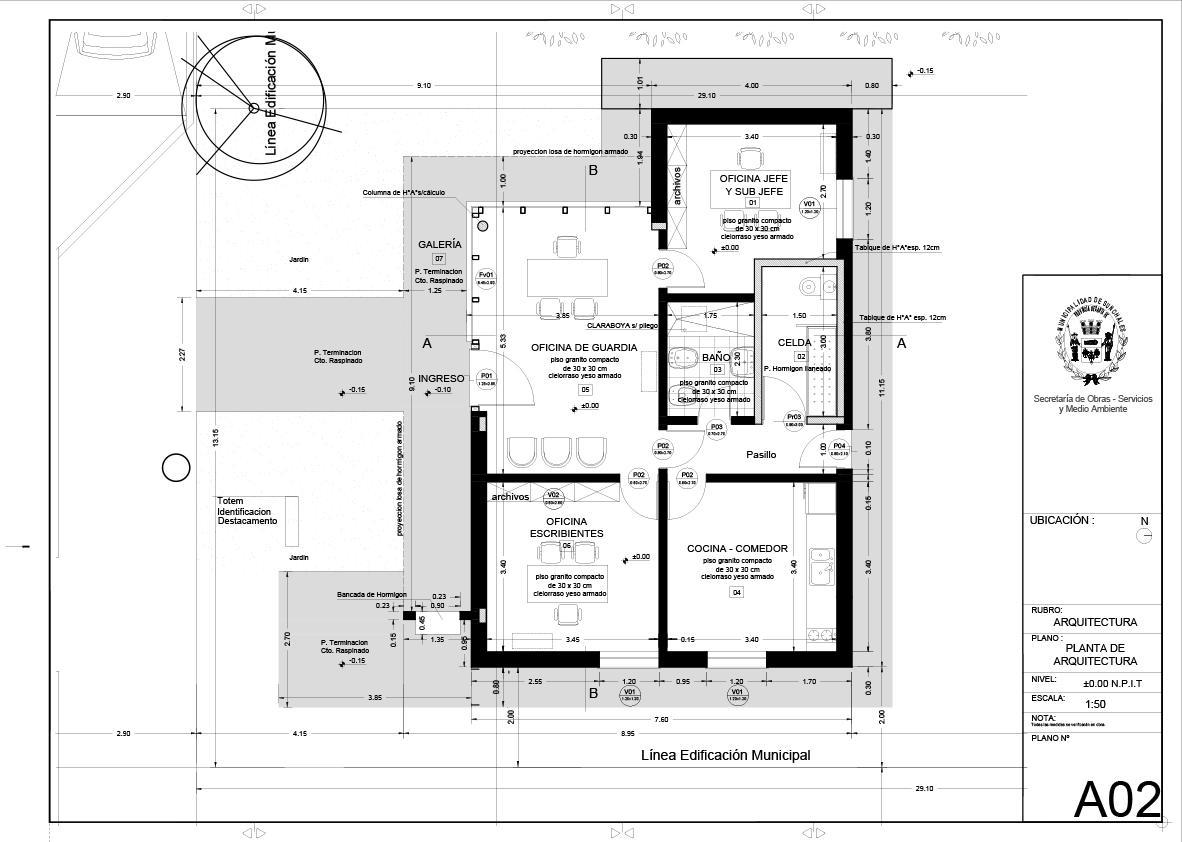 A01_Planta de Arquitectura
