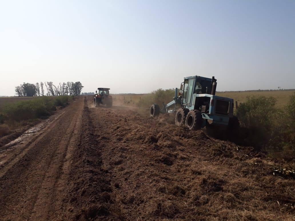 mantenimiento caminos rurales