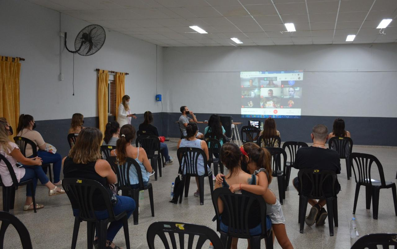 Primera clase aula talleres 2