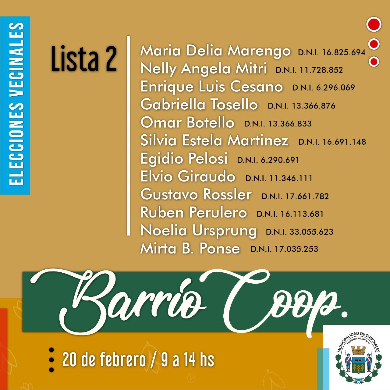 Lista 2 Coop