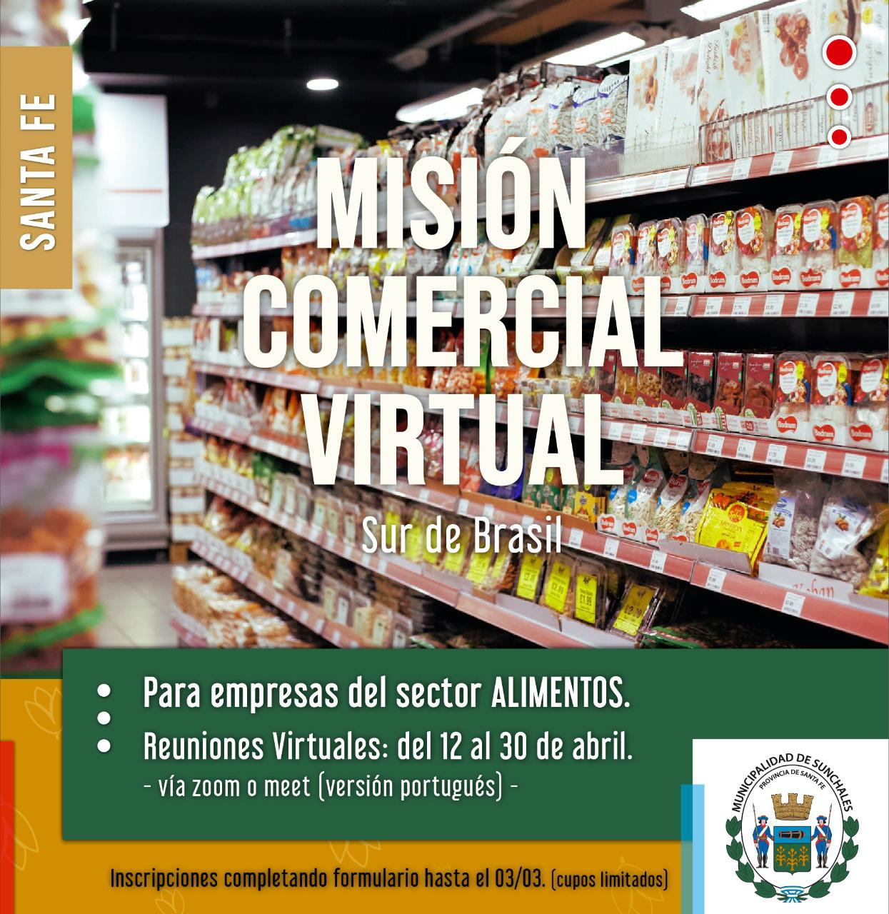 Mision comercial virtual