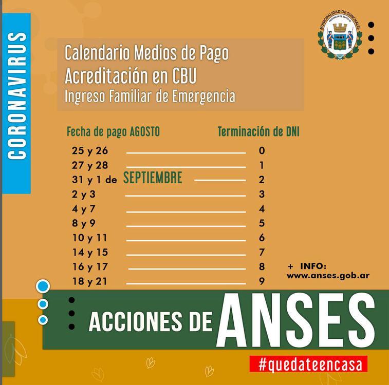 Calendario IFE CBU