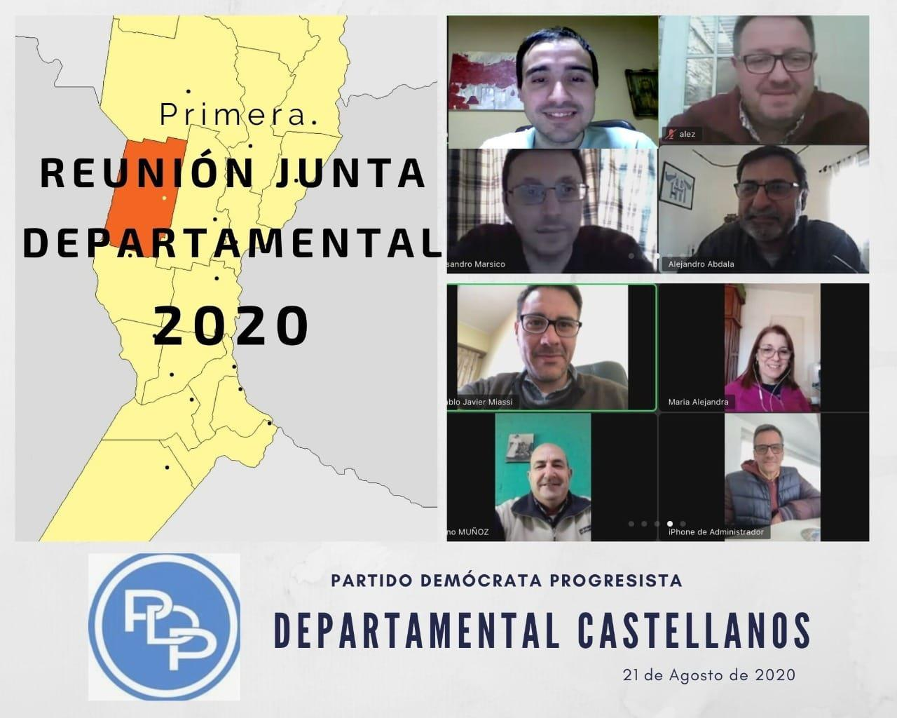mesa departamental PDP