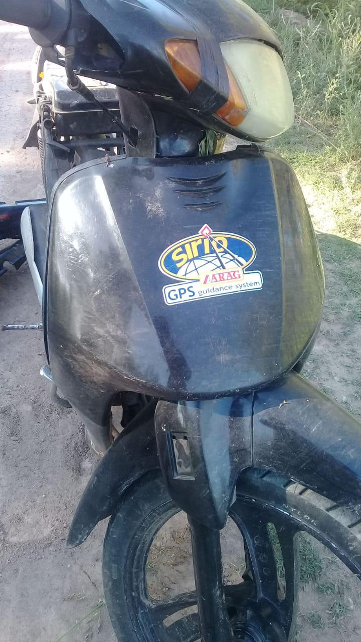 moto corven robada 2