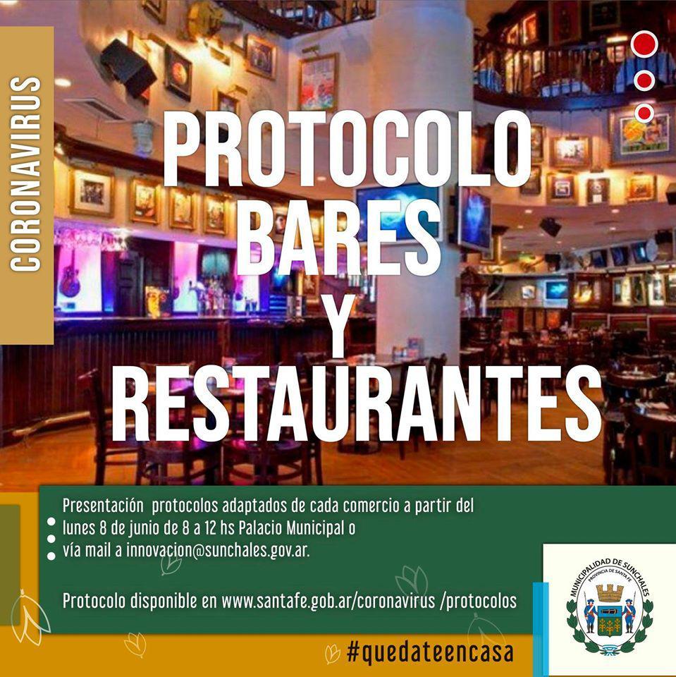 PROTOCOLO BARES Y RESTAURANTES